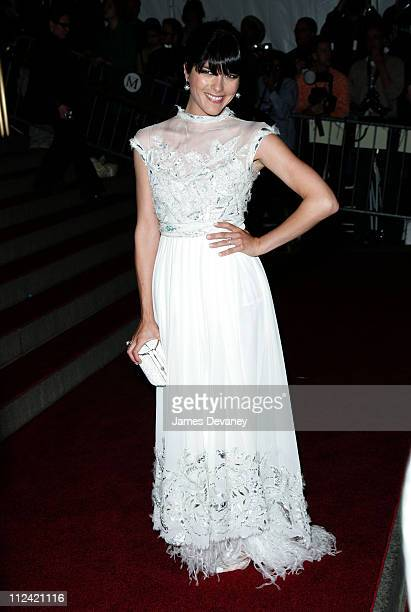 Selma Blair during AngloMania Costume Institute Gala at The Metropolitan Museum of Art Arrivals Celebrating AngloMania Tradition and Transgression in...