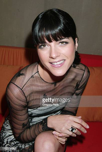 Selma Blair during Mont Blanc Women's Jewelry Collection Launch Arrivals and Inside Party at Cain in New York City New York United States