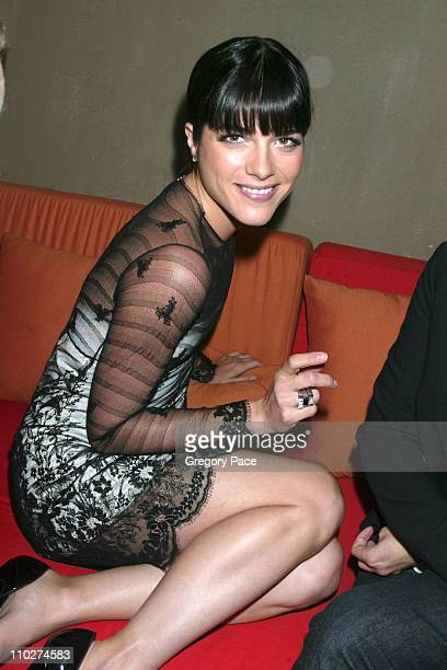 Selma Blair during Mont Blanc Women's Jewelry Collection Launch - Arrivals and Inside Party at Cain in New York City, New York, United States.