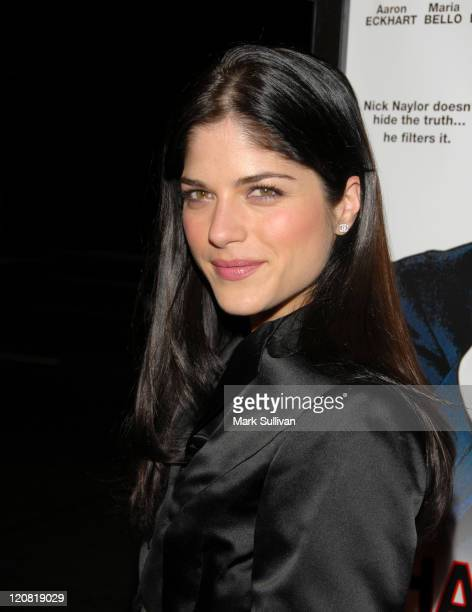 Selma Blair during 'Thank You For Smoking' Los Angeles Premiere Red Carpet at Directors Guild in Los Angeles California United States