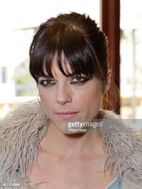 Selma Blair hosts Baby2Baby holiday event at The Grove on December 16 2015 in Los Angeles California