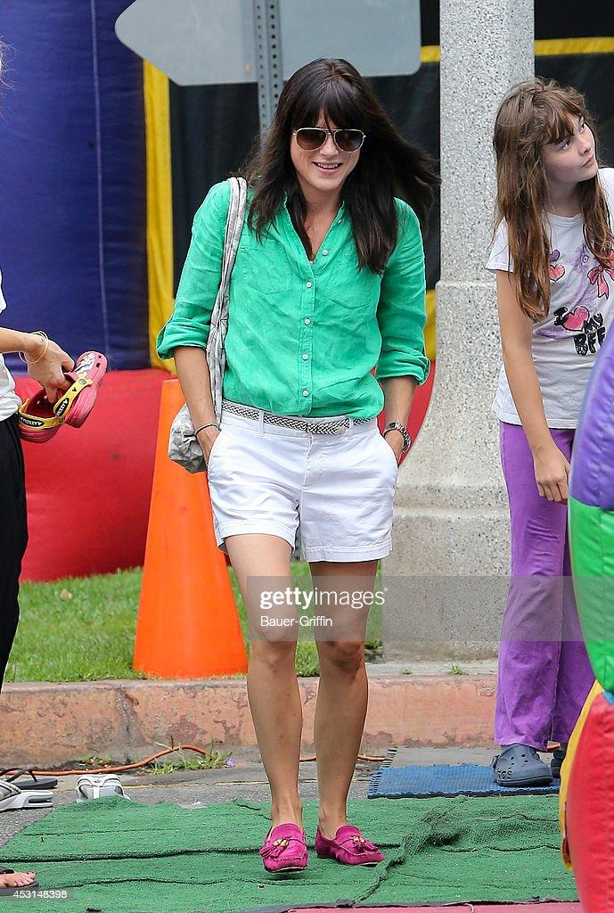 Selma Blair is seen on August 03, 2014 in Los Angeles, California.