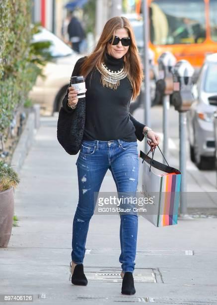 Selma Blair is seen on December 22 2017 in Los Angeles California