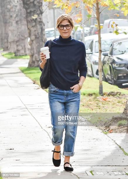 Selma Blair is seen on January 16 2018 in Los Angeles California