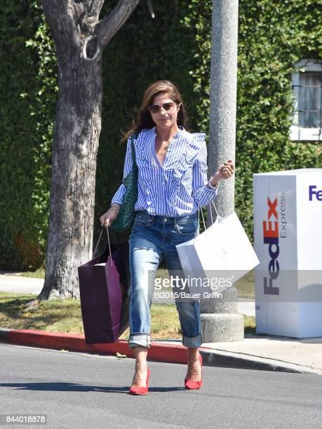 Selma Blair is seen on September 07 2017 in Los Angeles California