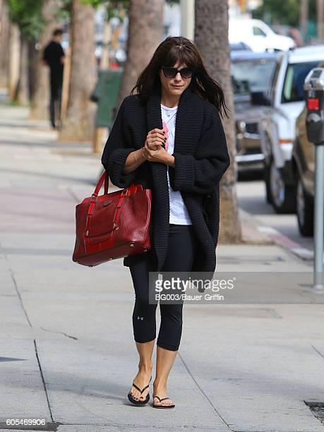 Selma Blair is seen on September 13 2016 in Los Angeles California