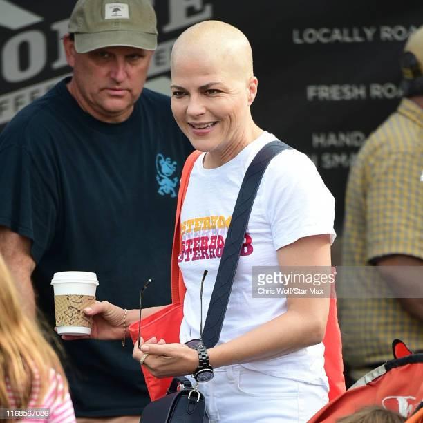 Selma Blair is seen on September 15, 2019 at Los Angeles.