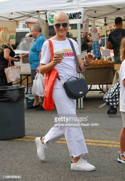 Selma Blair is seen on September 15, 2019 in Los Angeles, California.