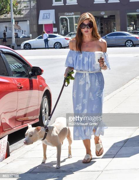 Selma Blair is seen on September 23 2017 in Los Angeles California