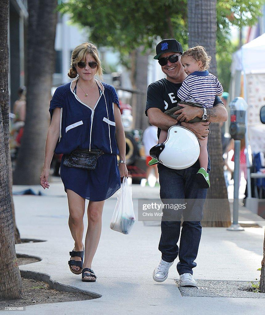 Celebrity Sightings In Los Angeles - September 1, 2013
