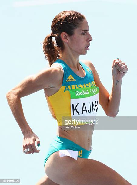 Selma Kajan of Australia competes in the Women's 800m Round 1 heats on Day 12 of the Rio 2016 Olympic Games at the Olympic Stadium on August 17 2016...