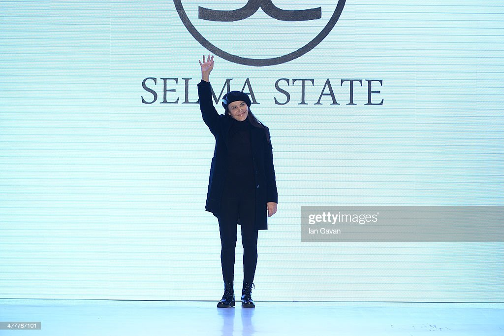 Selma State walks the runway at the Selma State show during MBFWI presented by American Express Fall/Winter 2014 on March 11, 2014 in Istanbul, Turkey.