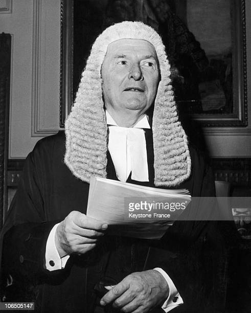 Selwyn Llyod Speaker Of The House Of Commons In United Kingdom In 1970'S