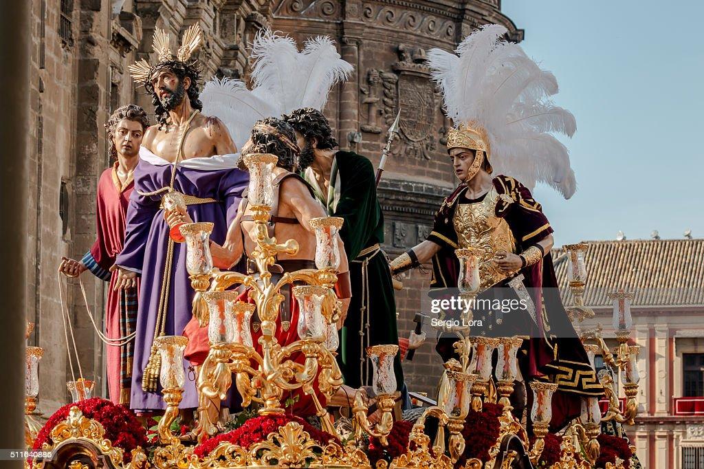 Semana Santa de Sevilla : Foto de stock