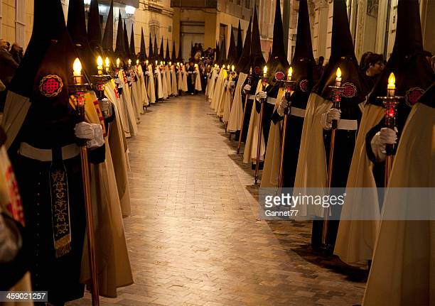 Semana Santa Procession in Cartagena, Spain