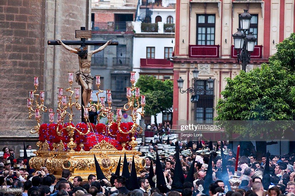 Semana Santa Sevilla : Stock Photo