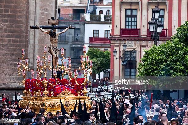 semana santa sevilla - holy week stock pictures, royalty-free photos & images