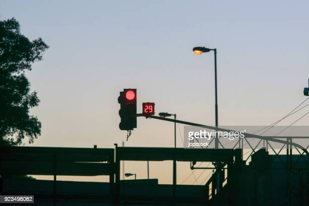 semaphore with timer - semaphore stock pictures, royalty-free photos & images