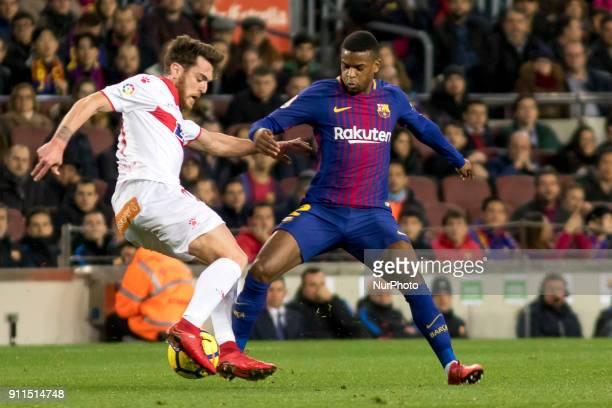 Semedo during the spanish footbal league match between FC Barcelona and Deportivo Alaves at the Camp Nou Stadium in Barcelona Catalonia Spain on...