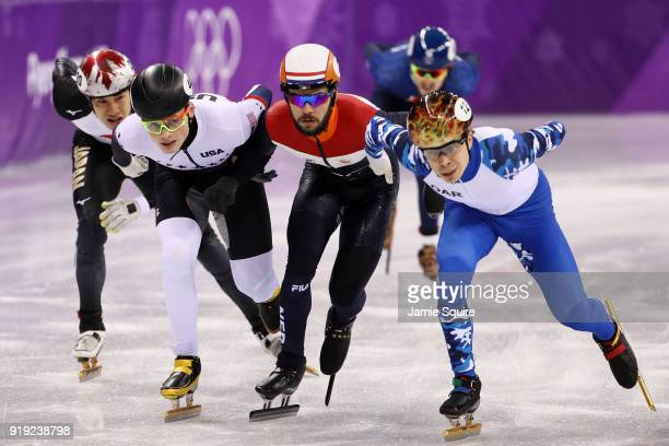 Semen Elistratov of Olympic Athlete from Russia Ryosuke Sakazume of Japan JohnHenry Krueger of the United States Farrell Treacy of Great Britain and...