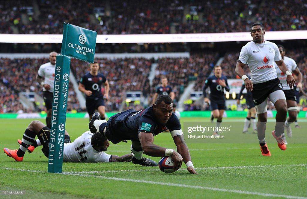 England v Fiji - Old Mutual Wealth Series