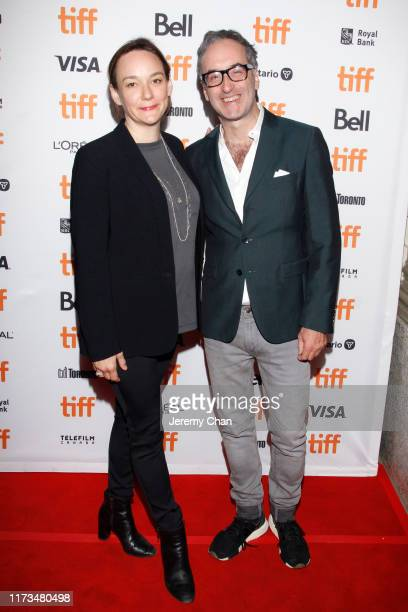 """Semi Chellas and Don McKellar attend """"The Two Popes"""" premiere during the 2019 Toronto International Film Festival at Winter Garden Theatre on..."""