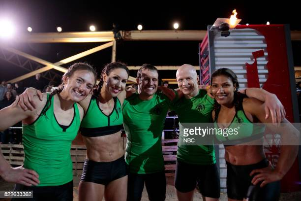 CHALLENGE Semi Finals Night 1 Episode 205 Pictured Michelle Warnky Maggi Thorne Lance Pekus Kevin Bull Meagan Martin of team The Ninjas