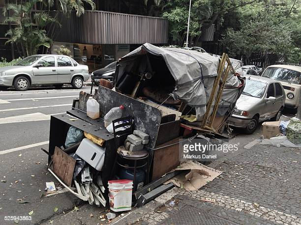 Semi Mobile Homeless Emcampment