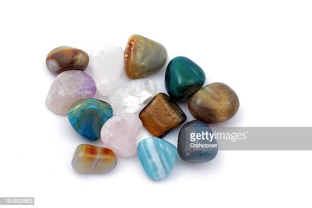 Semi Precious Stone Pebbles