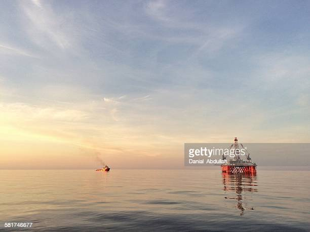 Semi Submersible offshore platform
