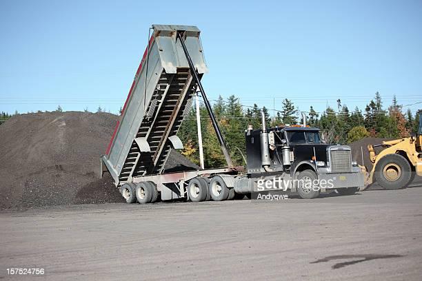 Semi Truck Dumping