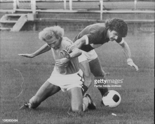 Semifinal Ampol Cup at Wentworth ParkHakoah Easts Vs Marconi FairfieldAgenor Muniz March 7 1976