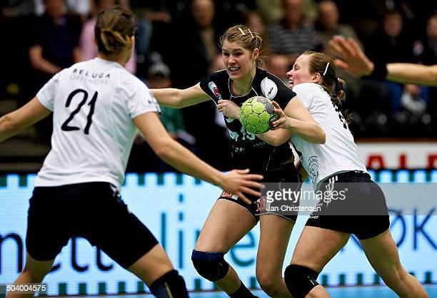 Semifinale EHF Cup - Line Jørgensen, FC Midtjylland . © Jan Christensen/Frontzonesport.