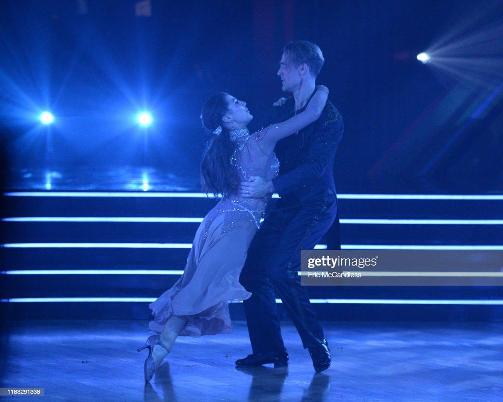 "ABC's ""Dancing With the Stars"" - Season 28 - Week Ten - SemiFinals : News Photo"