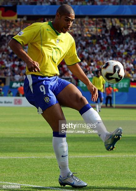 SemiFinals of the 2005 FIFA Confederations Cup Germany vs Brazil Brazil won 32 Adriano