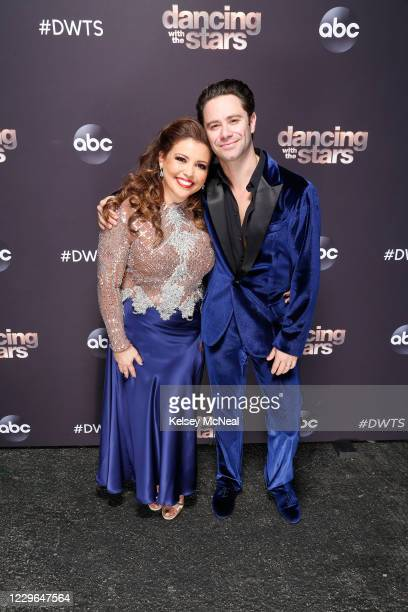 """Semi-Finals"""" - With only a week left before the finals, six celebrity and pro-dancer couples will dance and face double elimination as they compete..."""