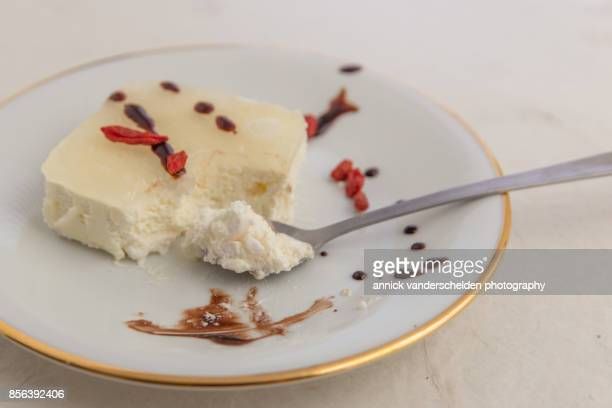 Semifreddo ice lemon.