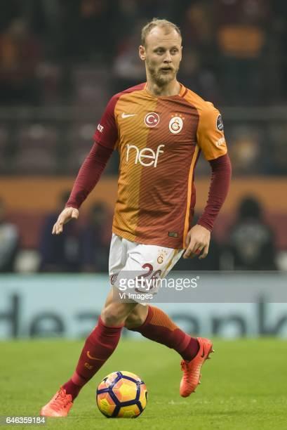Semih Kaya of Galatasarayduring the Turkish Spor Toto Super Lig football match between Galatasaray SK and Besiktas JK on February 27 2017 at the Türk...