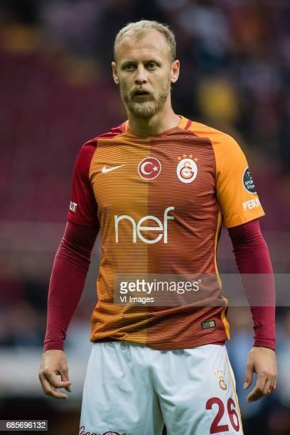 Semih Kaya of Galatasarayduring the Turkish Spor Toto Super Lig football match between Galatasaray SK and Osmanlispor FK on May 19 2017 at the Türk...
