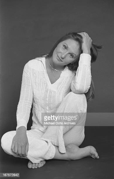 Seminal adult film star Linda Lovelace poses for a portrait circa 1976 in Los Angeles California