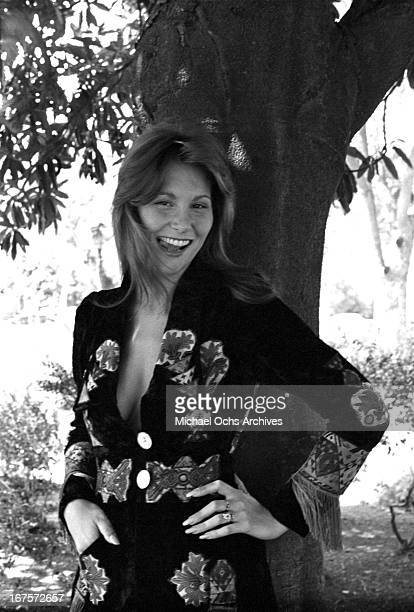 Seminal adult film star Linda Lovelace poses for a portrait circa 1974 in Los Angeles California