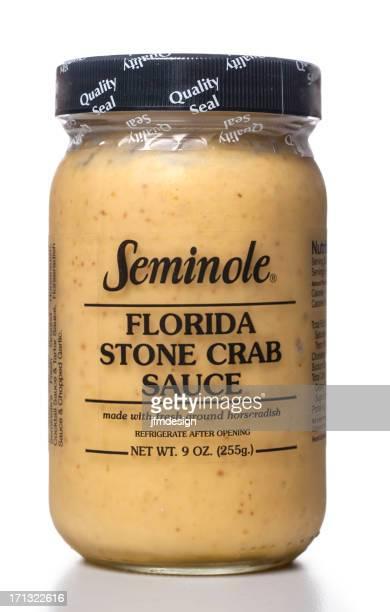 Seminole Florida Stone Crab Sauce jar