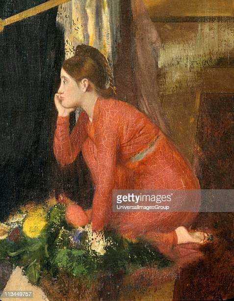 Semiramis Building Babylon' 18601862 Edgar Degas French Impressionist painter sculptor and printmaker In Greek legend Semiramis was Queen of Babylon