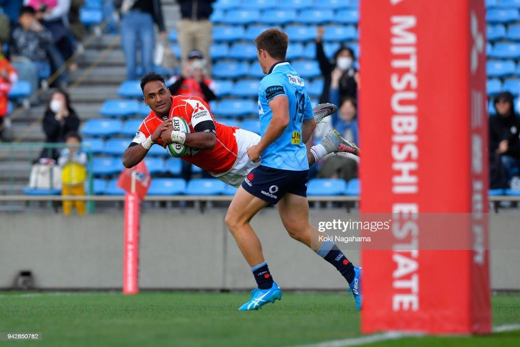 Super Rugby Rd 8 - Sunwolves v Waratahs : Nyhetsfoto