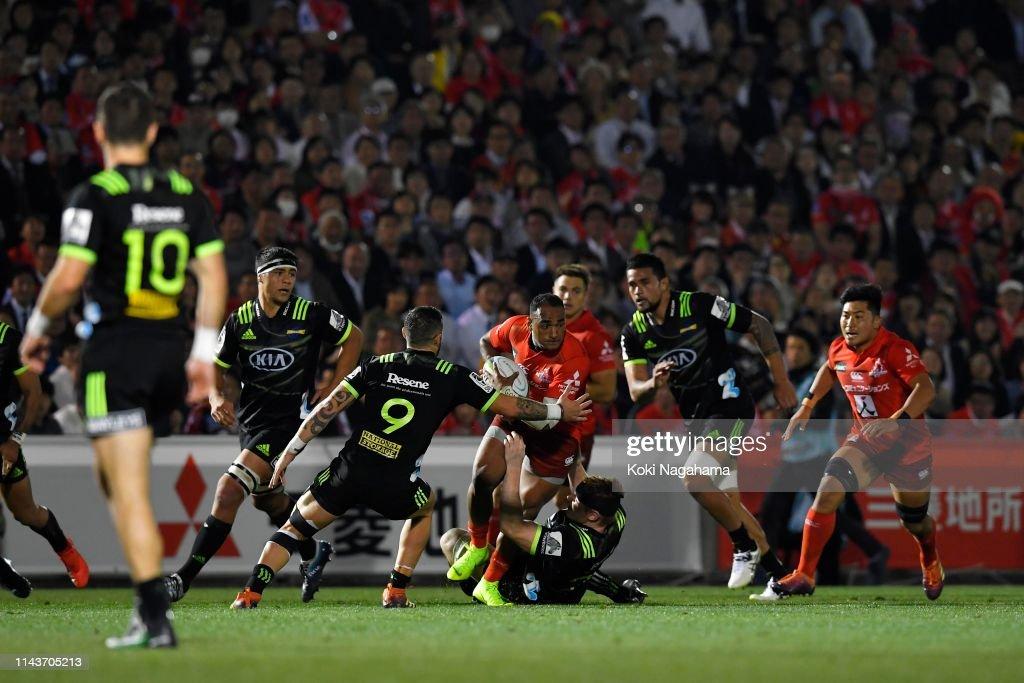 Super Rugby Rd 10 - Sunwolves v Hurricanes : News Photo