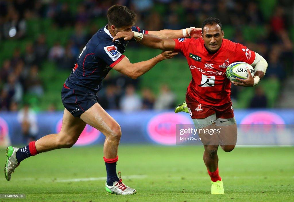 Super Rugby Rd 8 - Rebels v Sunwolves : News Photo