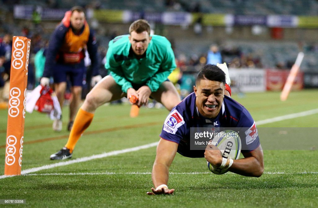 Super Rugby Rd 12 - Brumbies v Rebels : News Photo