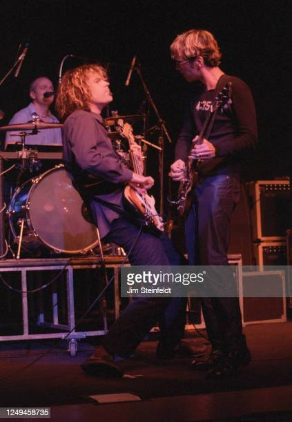 Semisonic performs at the Universal Amphitheatre in Los Angeles, California on August 28, 1998.