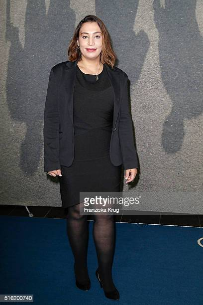 Semiya Simsek attends the 'Mitten in Deutschland NSU' German Premiere on March 17 2016 in Berlin Germany