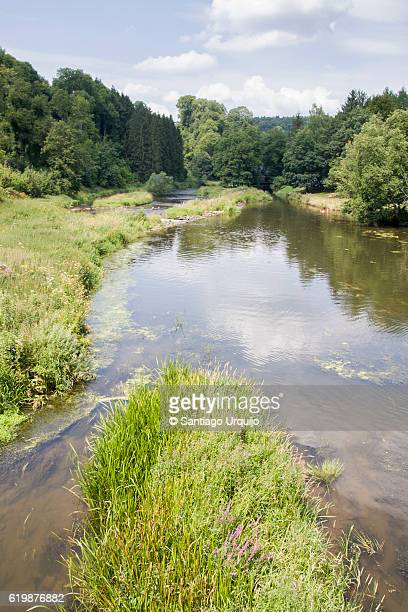 Semois River in Ardennes Forest